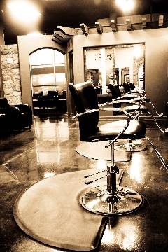 Our salon hair stations are state-of-the-art.